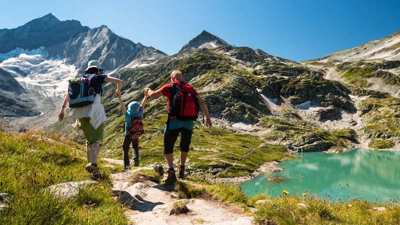 Wandern mit der ganzen Familie in Österreich