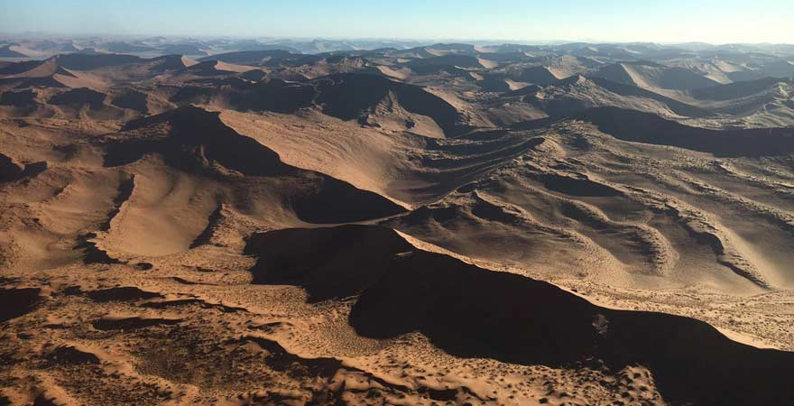Dünen in der Sossusvlei-Wüste