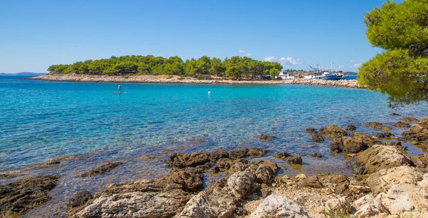 Insel Hvar in Kroatien