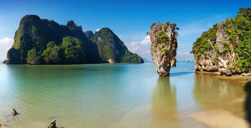 Fels Khao Ta-Pu, Khao Lak, Thailand