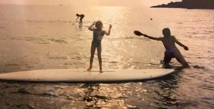 Kindheitserinnerung unserer Kollegin Nadine