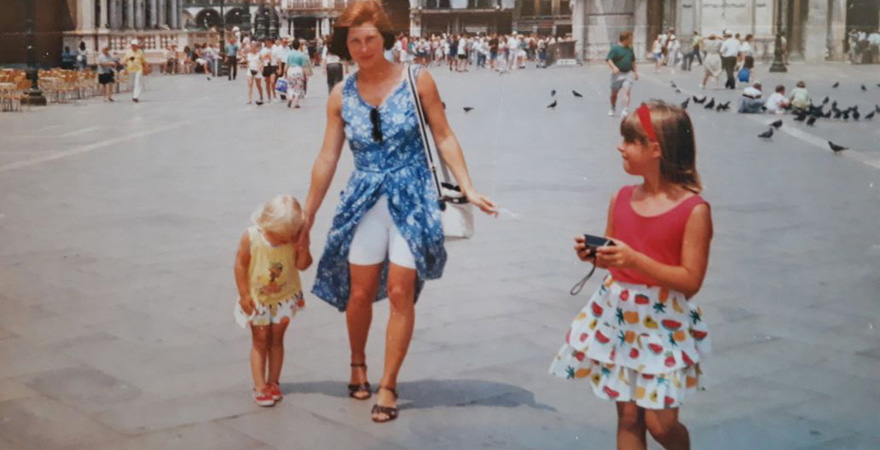 Kindheitserinnerung unserer Kollegin Sarah