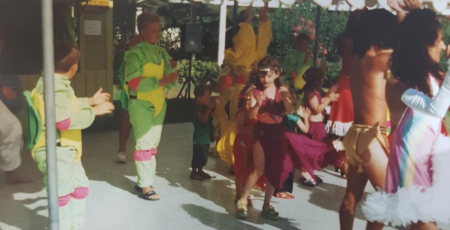 Kindheitserinnerung unserer Kollegin Verena