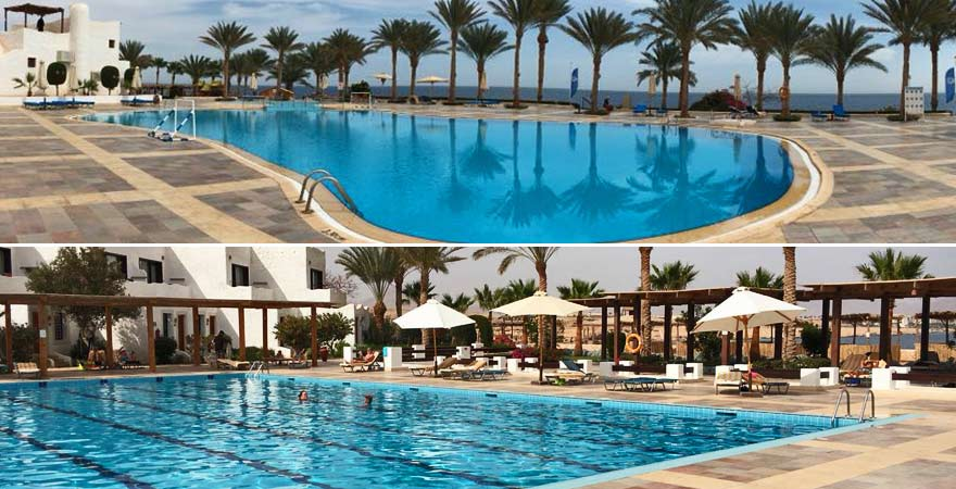 Die Pools des LABRANDA Tower Bays in Sharm el Sheikh