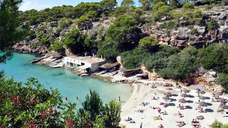 Bucht von Cala Pi auf Mallorca
