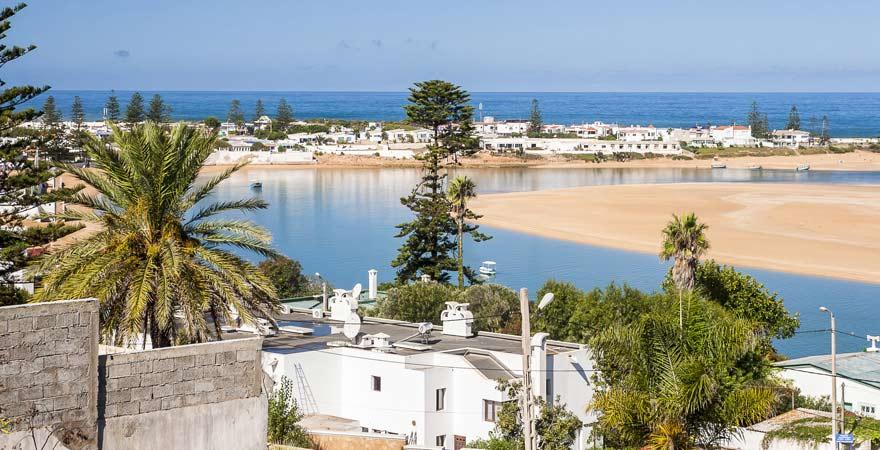 Lagune von Oualidia, Marokko