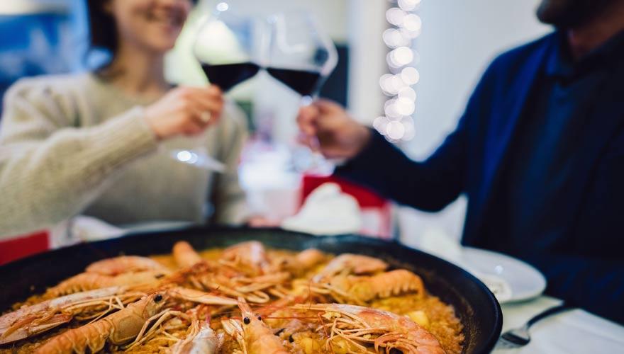 In Spanien ist einmal Paella essen Pflicht