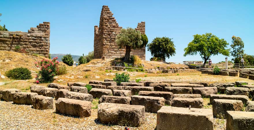 Ruinen von Myndos, Türkei