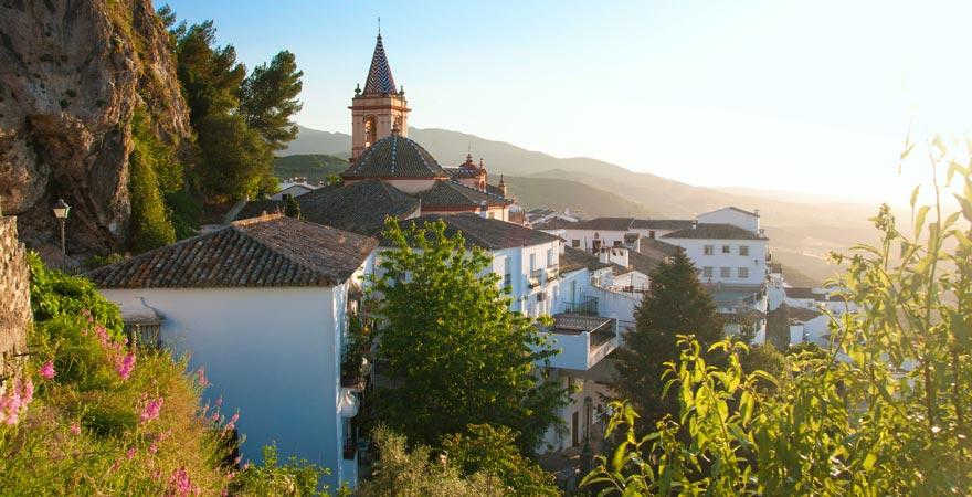 Die weißen Dörfer in der Sierra de Grazalema