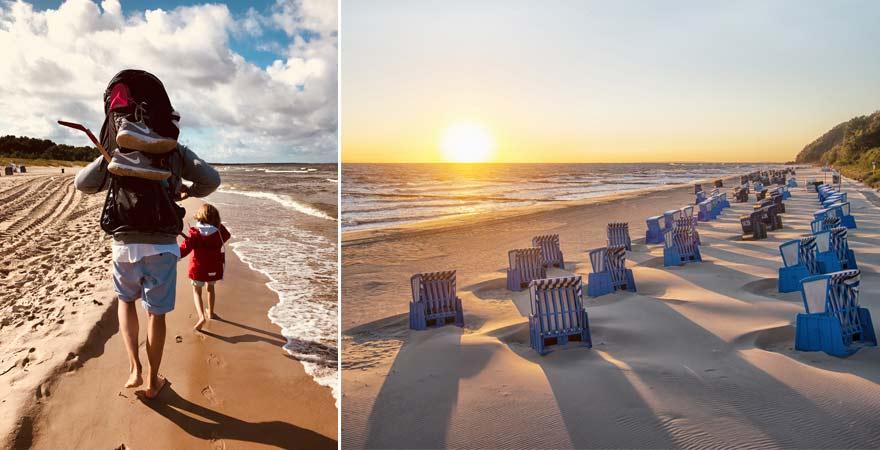 Moderator Dirk Löbling und seine Familie lieben Urlaub auf Usedom