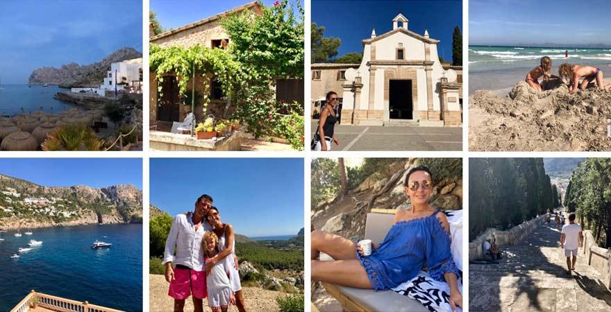 Für Mary Amiri und ihre Familie geht es am liebsten nach Mallorca