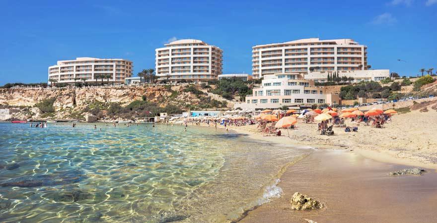 Strandtipp auf Malta: Golden Bay