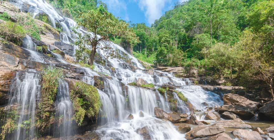 Mai Yai Wasserfall im Khao Sok Nationalpark, Khao Lak, Thailand
