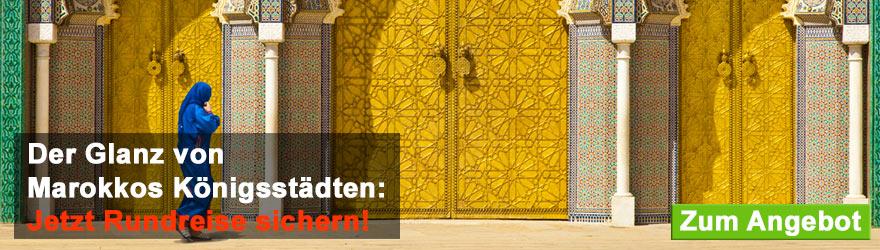 Banner Marokko Rundreise