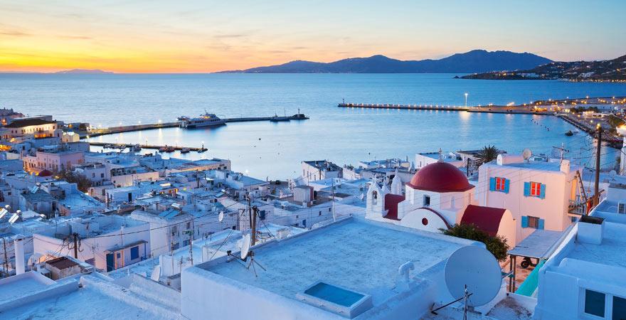 Für Partyurlauber ist Mykonos der perfekte Ort.