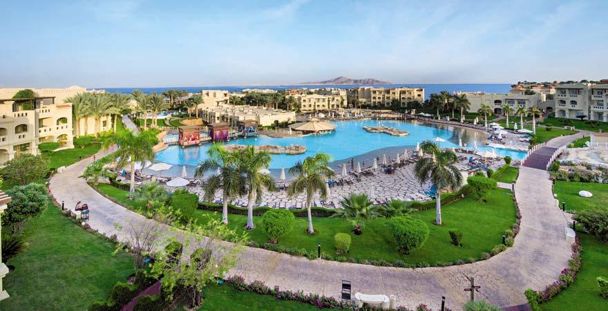 Der Lagunenpool im Rixos Sharm el Sheikh