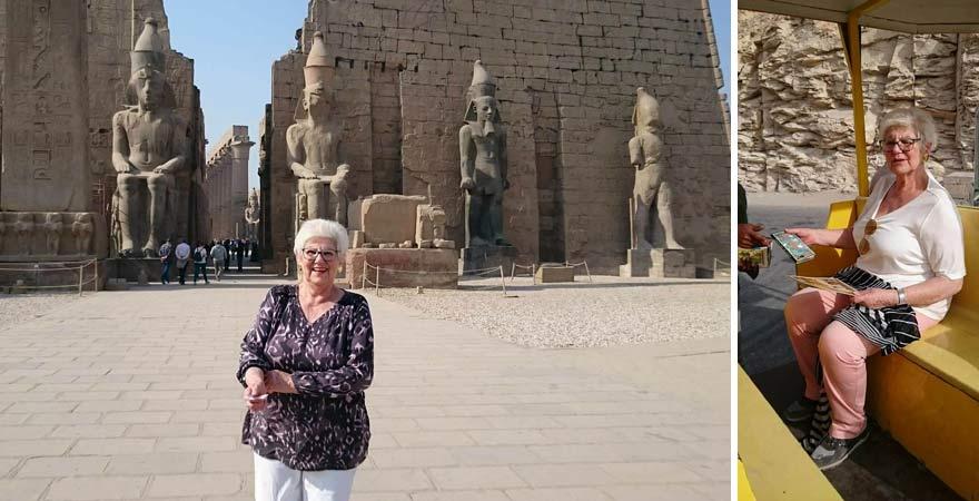 In Ägypten gibt es viele Ausflugsmöglichkeiten für Senioren