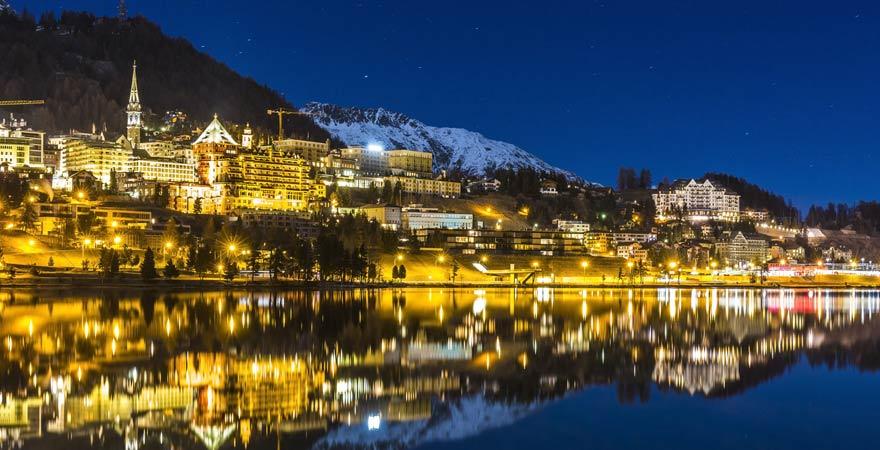 König Willem-Alexander und Máxima der Niederlande flitterten in St. Moritz