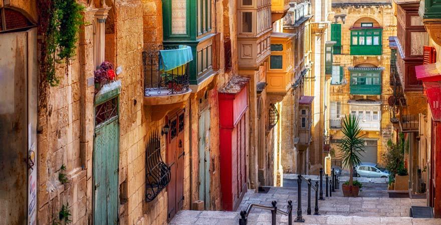 Valletta ist eine tolle Stadt und damit ein echter Reisetipp für Malta