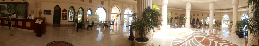 Lobby Caribbean World Resort Soma Bay