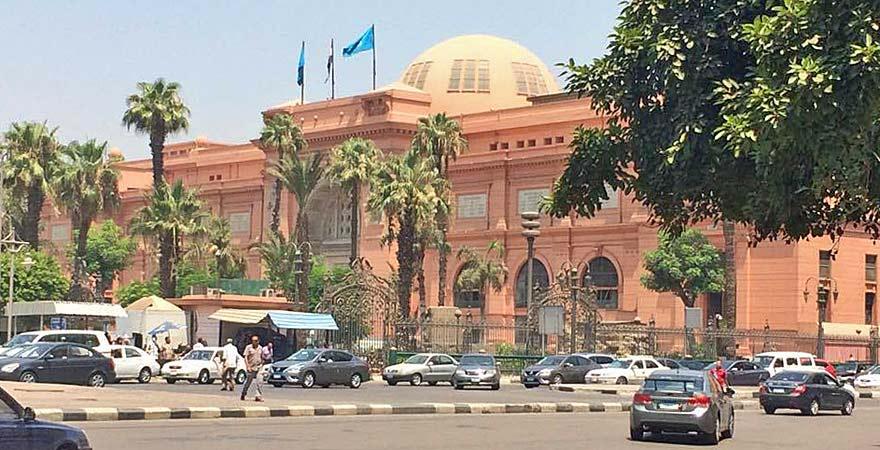 Das Ägyptische Museum ist ein wichtiger Zwischenstopp bei jedem Tagesausflug nach Kairo