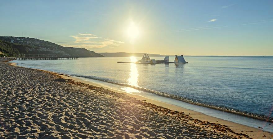Der Strand von Albena gehört zu den Reisetipps für euren Familienurlaub in Bulgarien