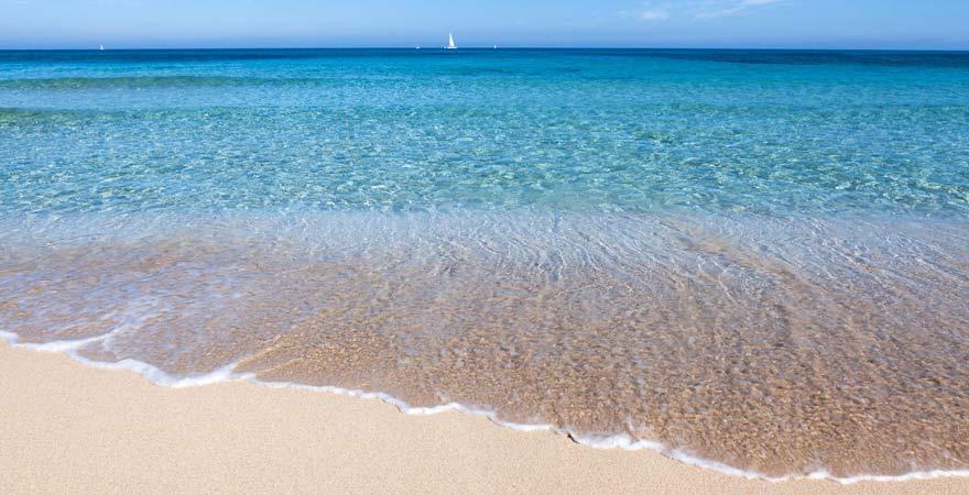 Ein toller zwei Kilometer langer Strand auf Mallorca: Can Cap de Bou