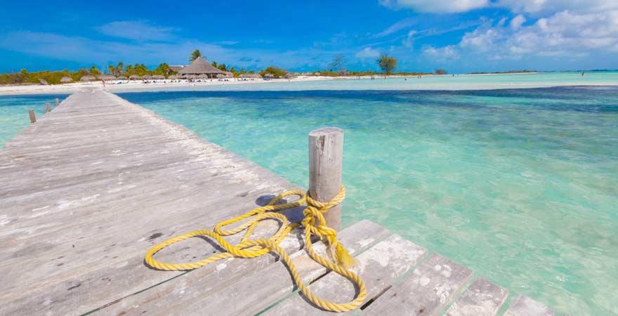 Die Strände von Cayo Lago del Sur sind ein echtes Highlight bei einem Kuba-Urlaub