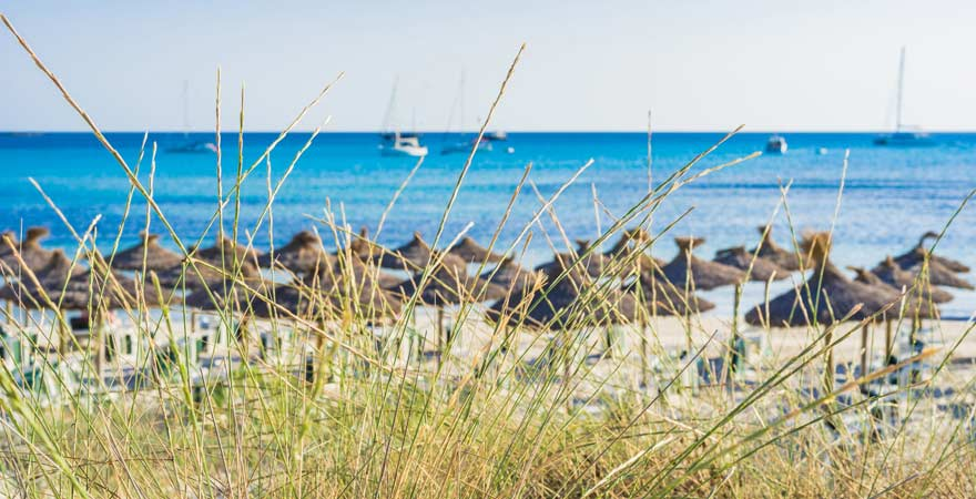 Der Strand von Es Trenc zählt zu den schönsten auf Mallorca