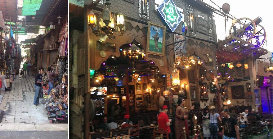Der Khan el-Khalili ist ein fester Tagespunkt bei einem Tagesausflug nach Kairo