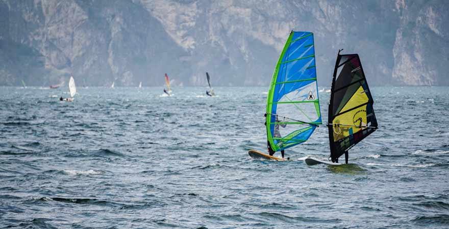 Reisetipp: Wer möchte, kann auf dem Gardasee hervorragend Kiten