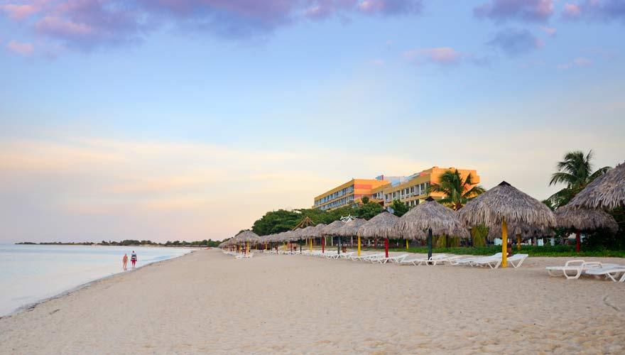 Playa Ancón in Trinidad auf Kuba - ein Traumstrand!