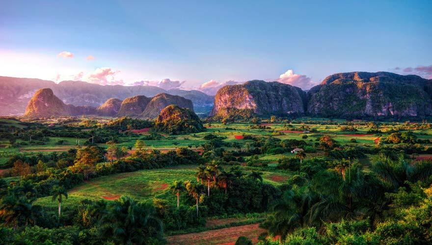 Unglaublich schön ist das Tal der Valle Viñales auf Kuba