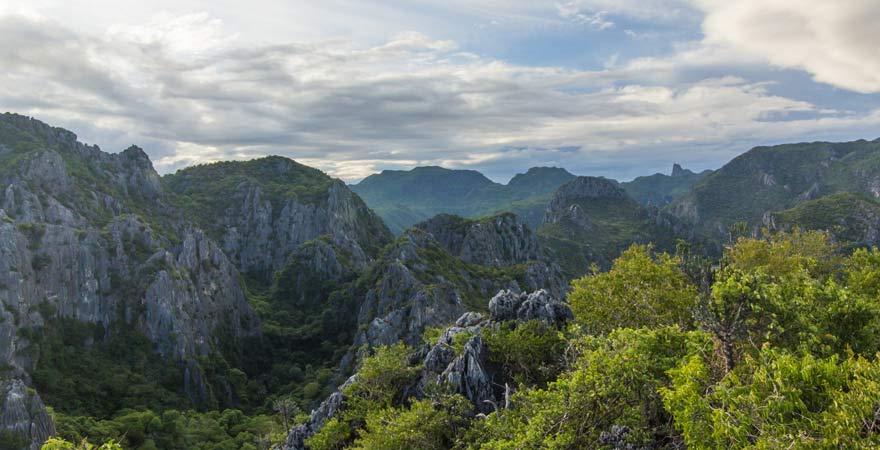 Im Reisebericht geht es auch um den Panburi Forest Park