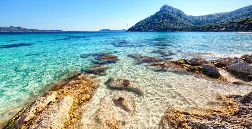 Der schönste Strand von Playa de Formentor, Mallorca