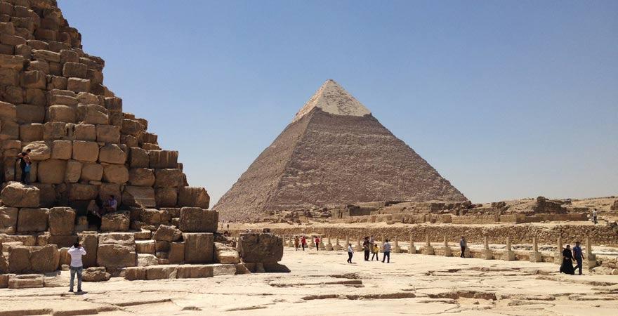 Die Pyramiden von Gizeh - ein Muss bei jedem Kairo-Tagesausflug!