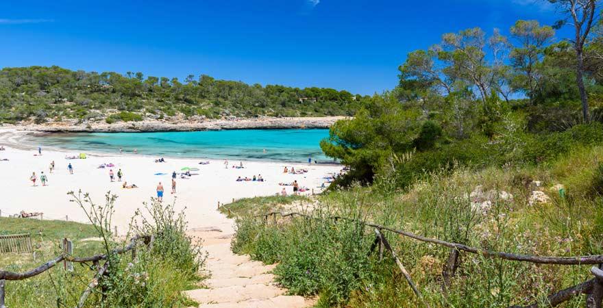 Strand S'Amarador auf Mallorca