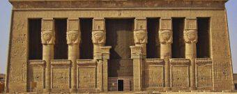 Die Tempelanlage von Dendera