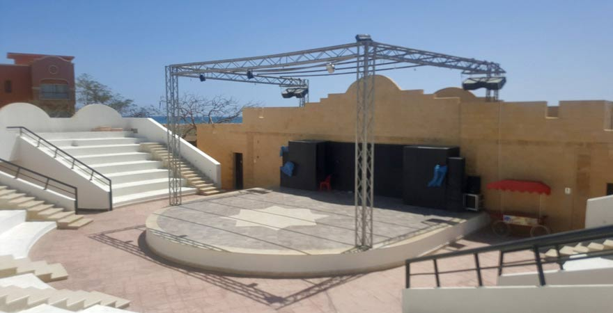 Amphitheater im Caribbean World Resort Soma Bay