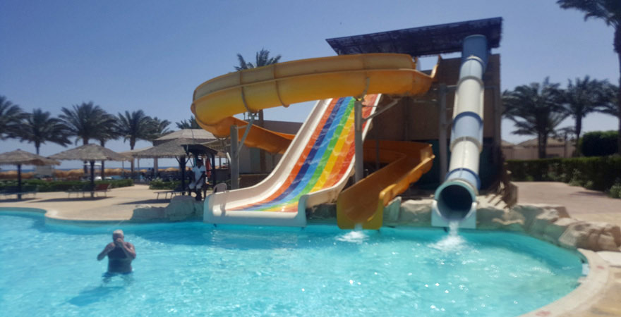 Wasserrutsche im Caribbean World Resort Soma Bay