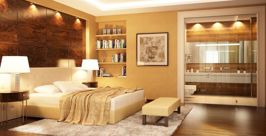Doppelzimmer in einem Hotel