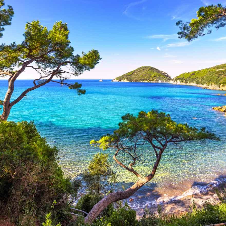 Elba ist ein schöner Reisetipp für einen tollen Badeurlaub in Italien
