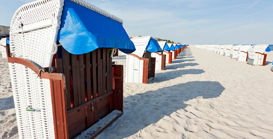 Strand von Grömitz