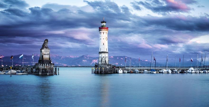 Lindau ist ein schönes Ausflugsziel im Familienurlaub am Bodensee
