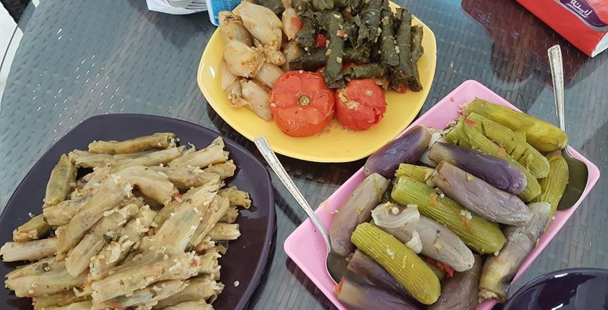 Eine tolle Speise aus der ägyptischen Küche: Mashi