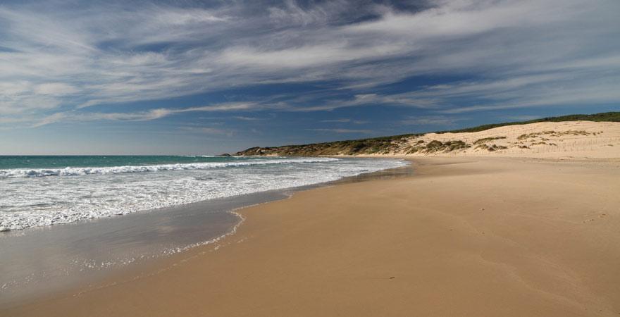 Die Playa de Valdevaqueros zählt zu den 11 schönsten Stränden in Spanien