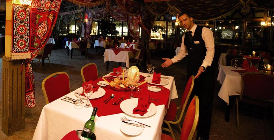 Restaurant im Caribbean World Resort Soma Bay