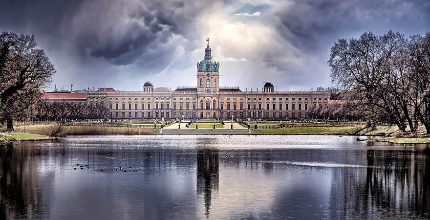 Der Eintrittspreis zum Schloss Charlottenburg ist sehr günstig
