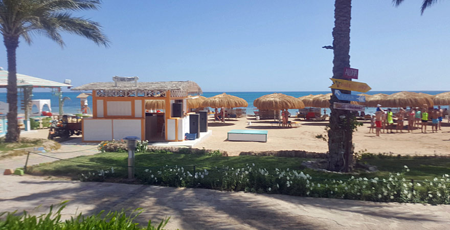 Strand am Caribbean World Resort Soma Bay