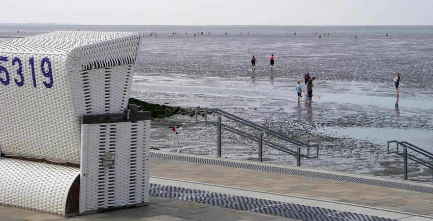 Eine Wattwanderung gehört zu den Reisetipps für die Nordsee
